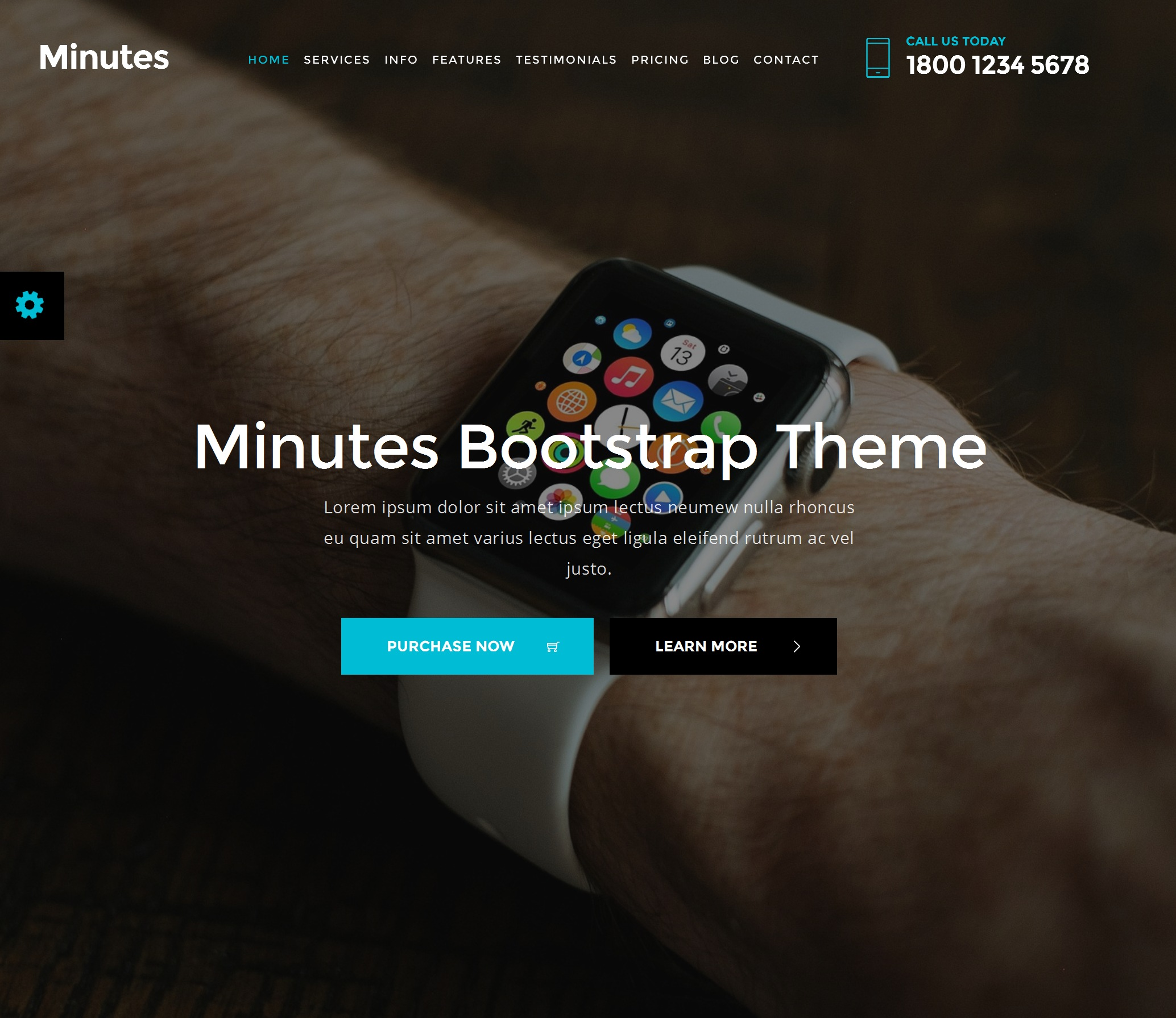 Mobile Bootstrap Restaurant Theme