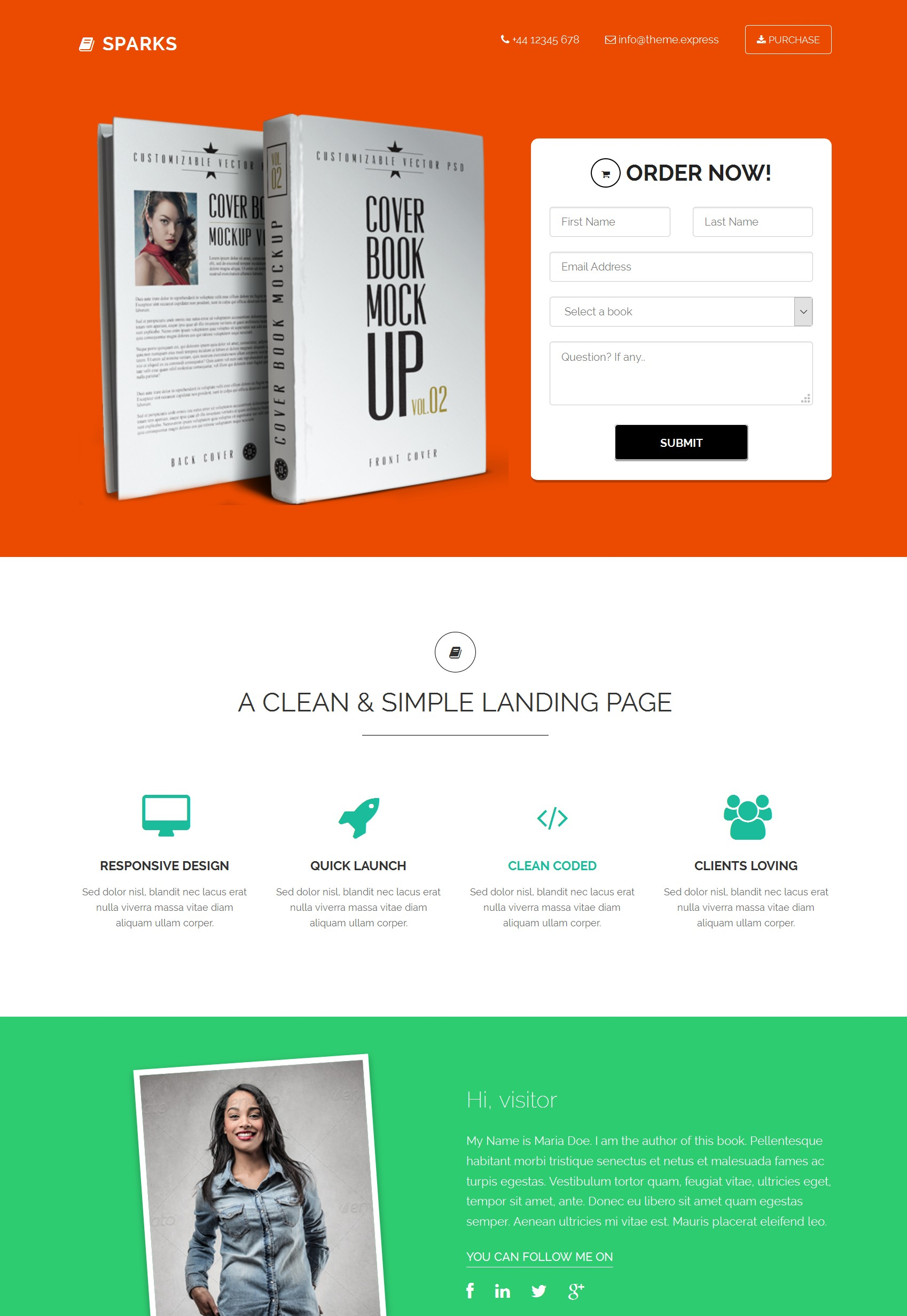 HTML5 Bootstrap Education Theme