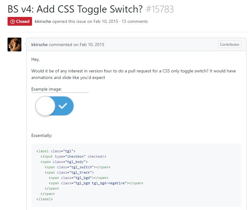 Tips on how to  provide CSS toggle switch?