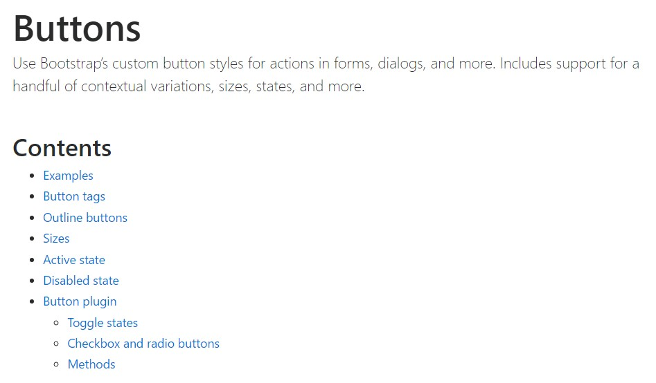 Bootstrap toggle official  documents
